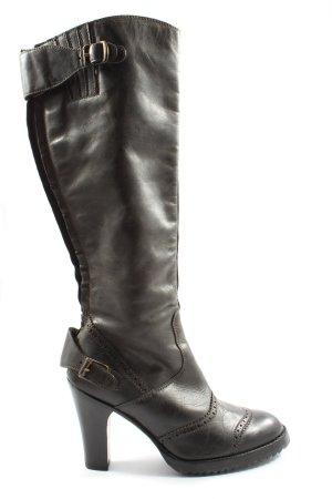 Belstaff Laarzen met hoge hakken bruin casual uitstraling