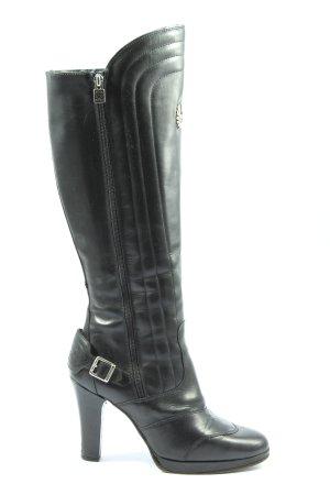 Belstaff High Heel Stiefel schwarz Casual-Look