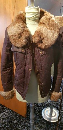 Belstaff Fur Jacket bronze-colored