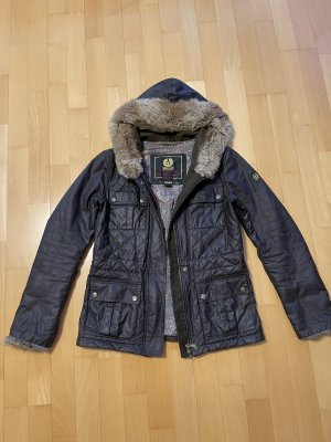 Belstaff Waxed Jacket dark brown