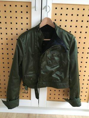 Belstaff Biker Jacket black-forest green