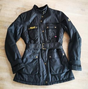 Belstaff Veste motard noir coton