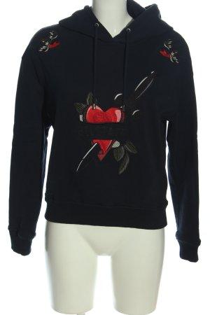 Belstaff Kapuzensweatshirt Motivdruck Casual-Look