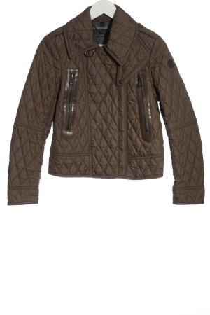 Belstaff Short Jacket brown quilting pattern casual look