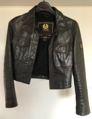 Belstaff Lady Motorcycle Blouson Antique Black