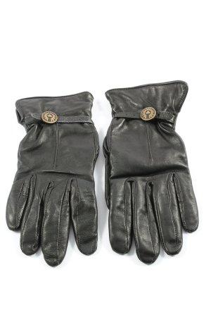 Belstaff Leren handschoenen zwart casual uitstraling