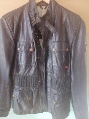 Belstaff Skórzana kurtka brązowy-ciemnobrązowy
