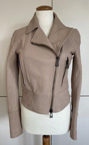 Belstaff Leather Jacket dusky pink-pink leather