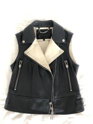 Belstaff Biker Vest black-cream
