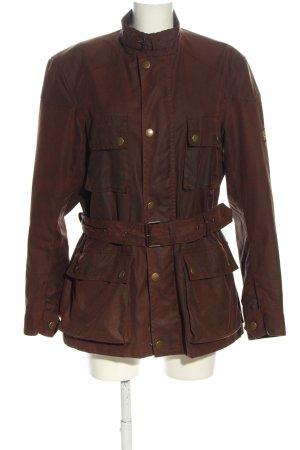 Belstaff Outdoor Jacket brown color gradient casual look