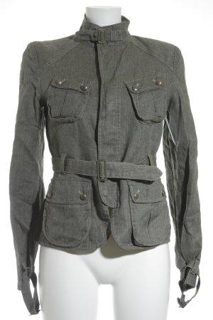 Belstaff Parka grigio-marrone-grigio modello web stile casual