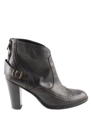 Belstaff Reißverschluss-Stiefeletten schwarz Business-Look