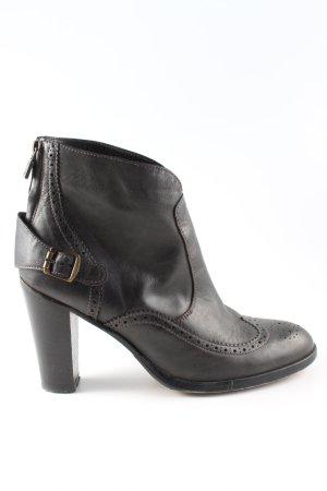 Belstaff Zipper Booties black business style