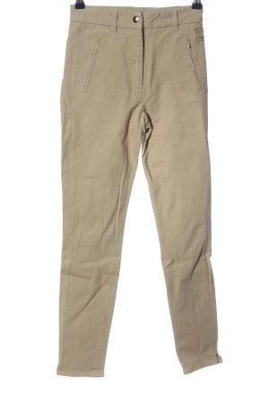 Belstaff Spodnie rurki kremowy W stylu casual