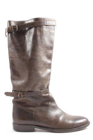 Belstaff Jackboots brown casual look
