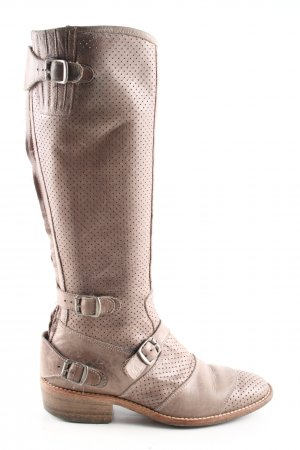 Belstaff Schaftstiefel nude Business-Look