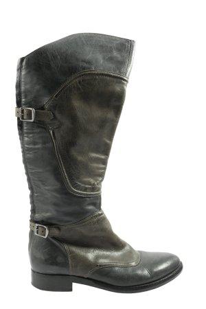 Belstaff Jackboots black-khaki casual look