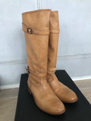 Belstaff Chelsea Boot brun sable-chameau