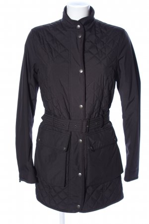 Belstaff Quilted Jacket black quilting pattern casual look