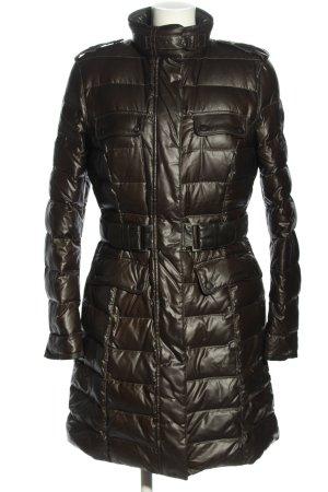 Belstaff Gewatteerde jas bruin quilten patroon casual uitstraling
