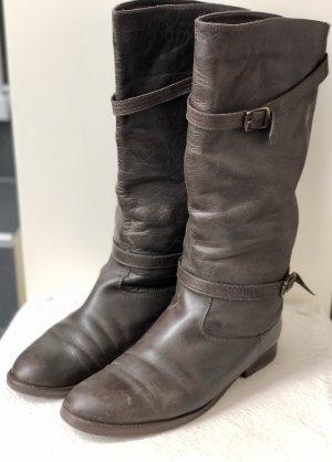 Belstaff Stiefel Lady Boot dunkelbraun 39