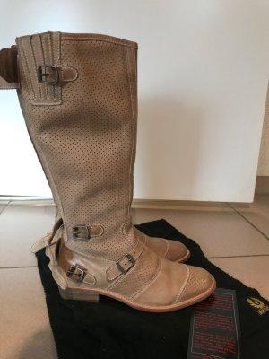 Belstaff Jackboots sand brown leather