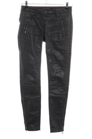 Belstaff Stretch Trousers black street-fashion look