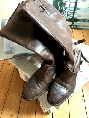 Belstaff Biker Boots brown