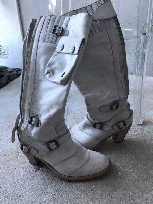 Belstaff Biker Boots natural white-light brown
