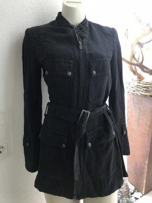 Belstaff Between-Seasons Jacket black-silver-colored