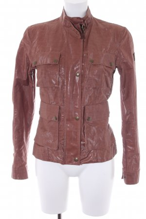 Belstaff Between-Seasons Jacket cognac-coloured casual look