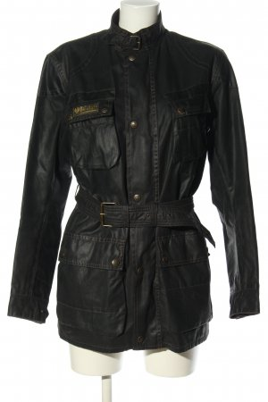 Belstaff Übergangsjacke schwarz Casual-Look