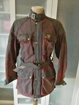 Belstaff Waxed Jacket bordeaux-black