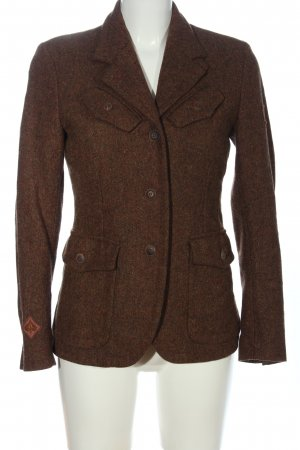 Belstaff Blazer in lana marrone puntinato stile casual