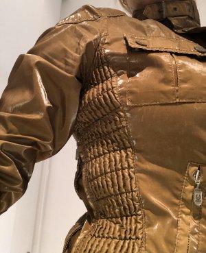 Belstaff Veste motard bronze coton