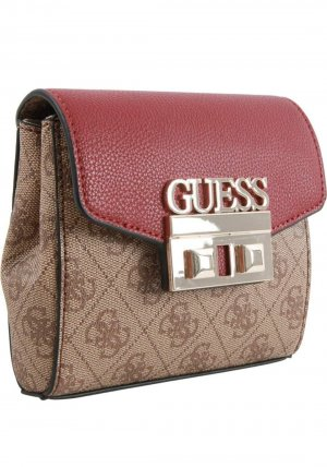 Guess Bumbag brown-dark red