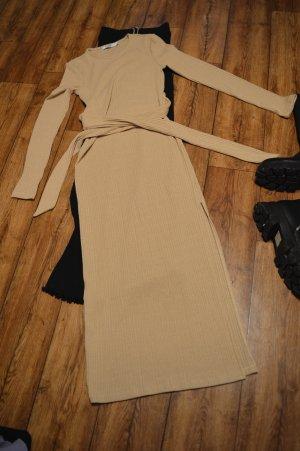 Nakd Longsleeve Dress beige