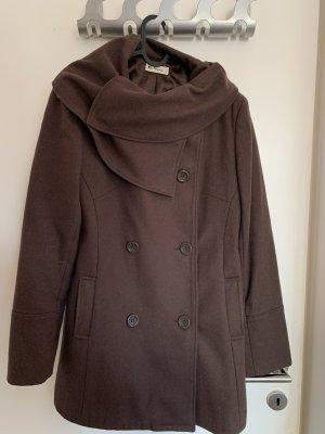 Ben Sherman Wool Coat brown wool