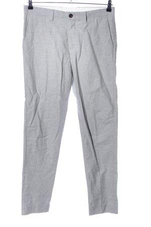 Ben Sherman Suit Trouser light grey weave pattern casual look