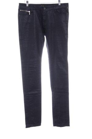 Ben Sherman Slim Jeans schwarz Logo-Applikation