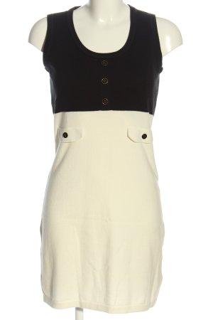 Ben Sherman Pinafore dress natural white-black casual look