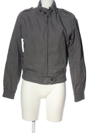 Ben Sherman Between-Seasons Jacket light grey-black allover print casual look