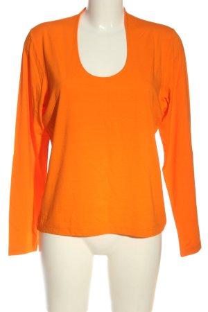Benbarton Bluzka z długim rękawem jasny pomarańczowy W stylu casual