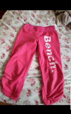 Bench Pantalone a 3/4 rosso lampone
