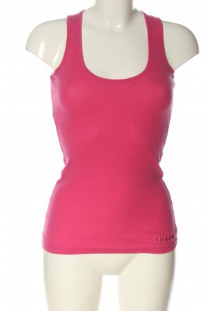 Bench Basic Top pink Casual-Look