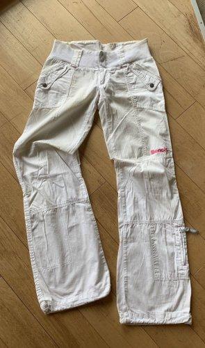 Bench Cargo Pants white-pink