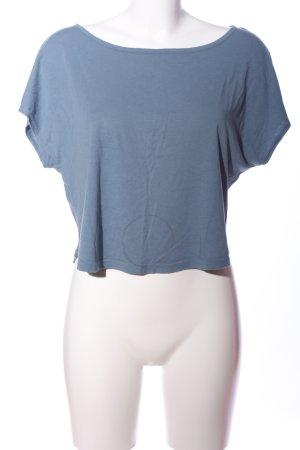 Bench Cropped Shirt blau Casual-Look