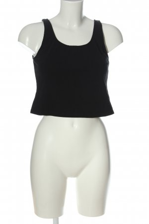 Bench Cropped Top schwarz Casual-Look