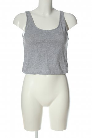 Bench Cropped Top hellgrau meliert Casual-Look