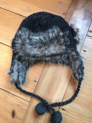 Bench Cappello in pelliccia multicolore